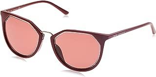 Calvin Klein Round Essentials Burgundy Sunglasses-54