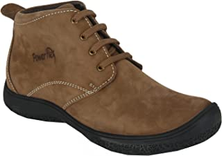 Red Chief Men's Brown Leather Boots-6 UK (40 EU) (PF3470_313_6)
