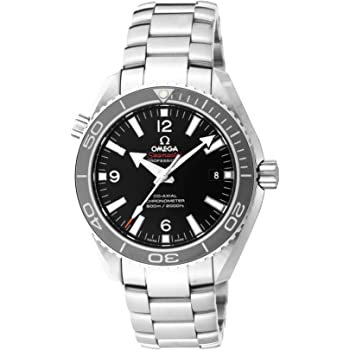 [オメガ] 腕時計 シーマスター プラネットオーシャン ブラック文字盤 コーアクシャル自動巻 600M防水 232.30.42.21.01.001 並行輸入品 シルバー