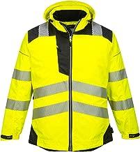 Portwest PW3 Hi-Vis Winter Jacket Work Safety Protective Reflective Waterproof Coat ANSI 3