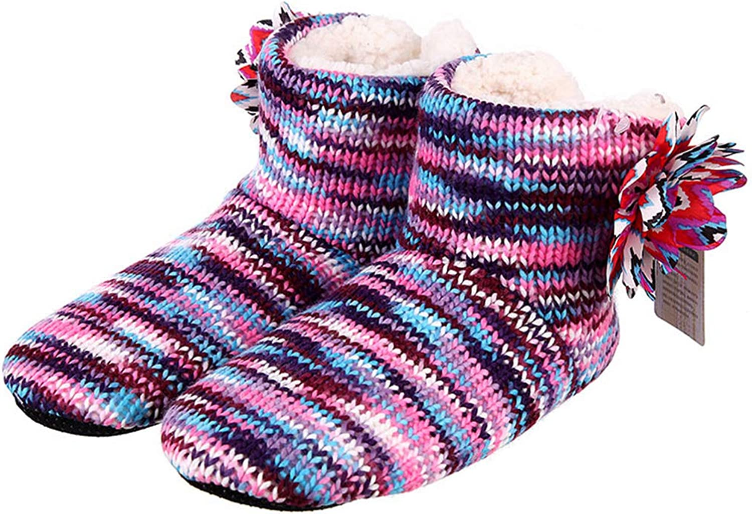 Winter Warm Slippers Adult Men and Women Household Socks Boots Soft Non-Slip Thicken Plush Home Indoor shoes