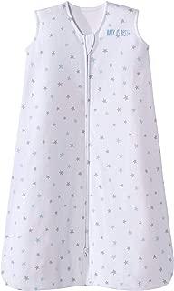 Halo Sleepsack Cotton Wearable Blanket, Blue Stars, X-Large