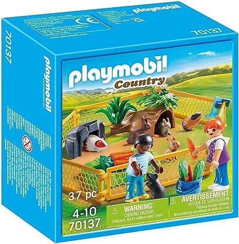 Playmobil - Enfants avec Petits Animaux - 70137