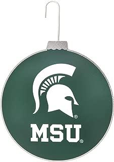 Collegiate Pulse Michigan State Univeristy Spartans NCAA DISC Ornament