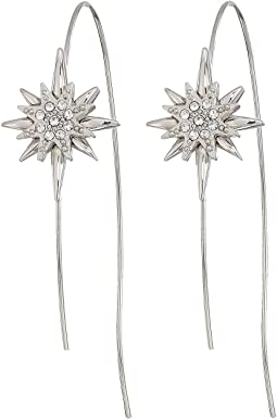 Wire Star Earrings