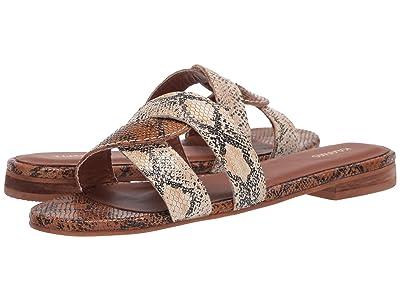 KAANAS Santorini Snake Infinity Sandal (Honey) Women