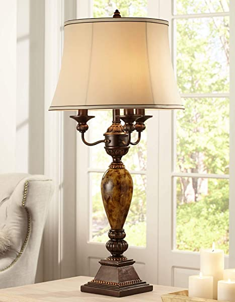 Kathy Ireland Mulholland 6 Way Traditional Table Lamp