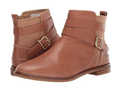 Sperry Seaport Shackle Leather Boot (Tan Leather) Women
