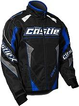 Castle X Bolt G4 Youth Boy's Snowmobile Jacket Blue XSM