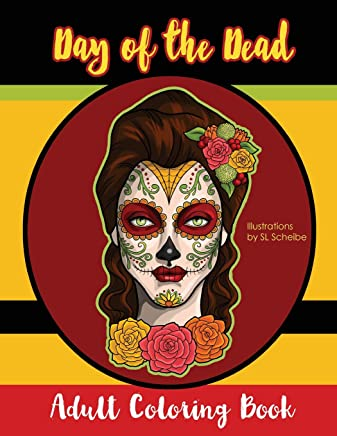 Download Day Of The Dead Adult Coloring Book