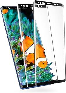 GalaxyNote8 ガラスフィルム Note8 フィルム SC-01K ギャラクシーノート8 フィルム 【2枚セット】 SCV37 強化ガラス 高光沢 全面保護 ノート8 液晶 保護フィルム 【干渉しない/貼り付け簡単/気泡ゼロ/高透過率】