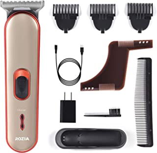 Beard Trimmer Hair Clippers Electric Razor For Men Mustache & Beard Groomer hair trimmer cordlessclippers Precision Dial Portable USB charging cable