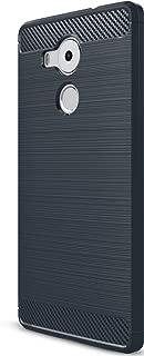 XINFENGDI Carcasa para Huawei Mate 8, Carcasa delgada de silicona TPU [Anti-arañazos] Funda para smartphone Huawei Mate 8 - azul