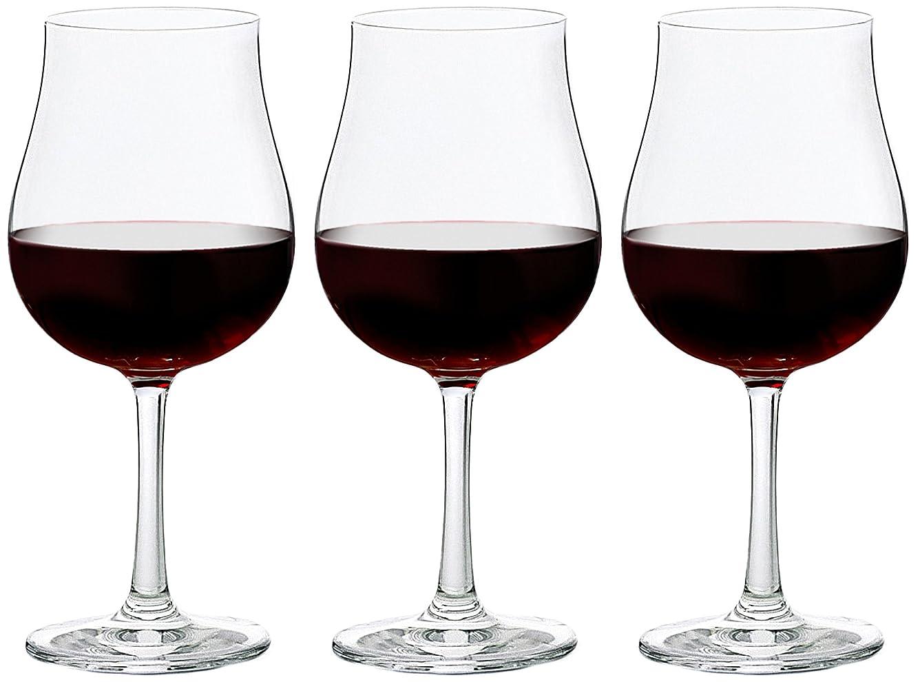 フロンティアノート言い換えるとアデリア ワイングラス 300ml 口部強化 プロローグ ブルゴーニュ 3個セット 日本製 L-6738
