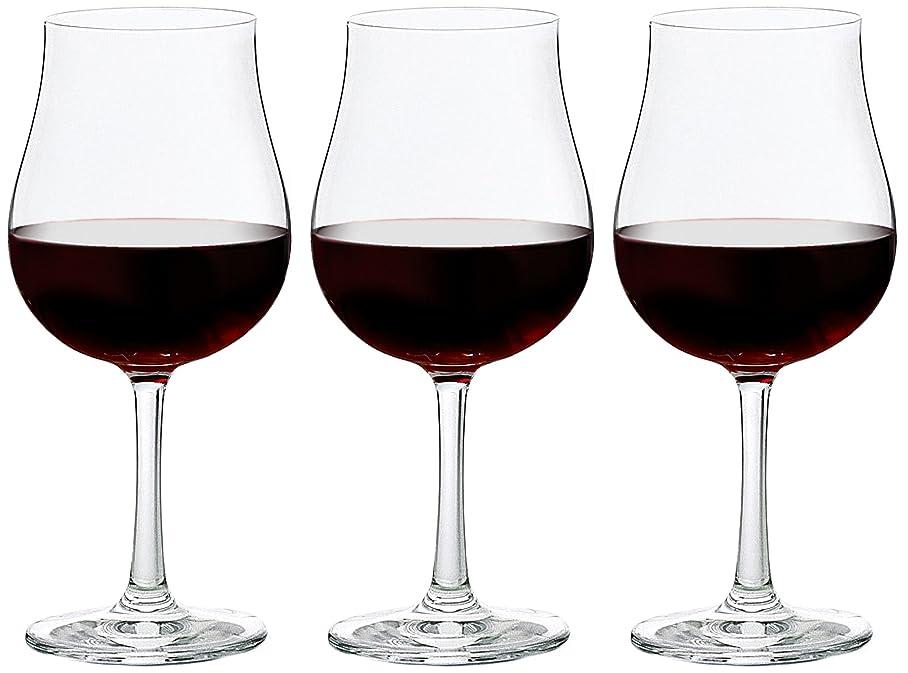 重さ余韻水星アデリア ワイングラス 300ml 口部強化 プロローグ ブルゴーニュ 3個セット 日本製 L-6738