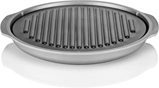 TECHEF - TRUE GRILL PAN - Stovetop Nonstick Indoor/Outdoor Smokeless BBQ Grill Set, including a Grill Plate and Alumium Drip Tray