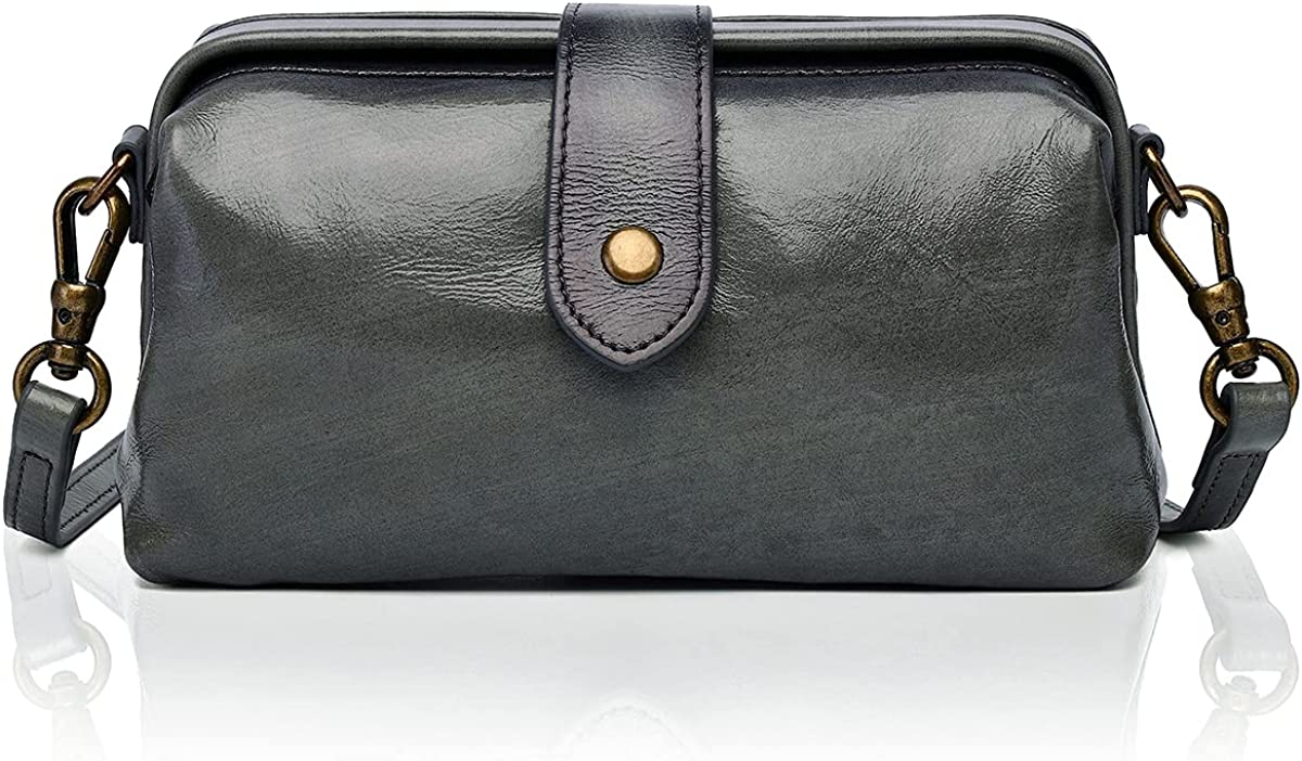 APHISON 信頼 付与 Women Shoulder Bag Contrast color Genuine Crossbody