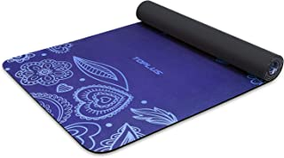 TOPLUS Yoga Mat, Non-Slip Yoga Mat Eco Friendly Exercise & Workout Mat with Carrying Strap- for Yoga, Pilates and Floor Exercises(1/4 inch-1/8 inch)