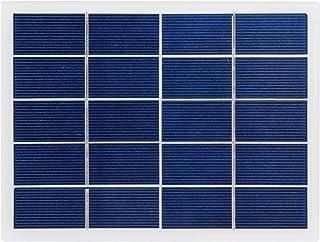 WANGYONGQI Chargeur De Batterie Solaire en Silicium Polycristallin en Panneau Solaire 3W 5V 170X130mm Adapté Aux Pompes À ...