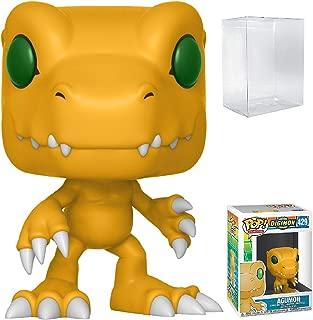 Funko Pop! Animation: Digimon - Agumon Vinyl Figure (Bundled with Pop Box Protector Case)