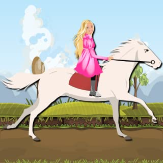 Princess Ride White Horse