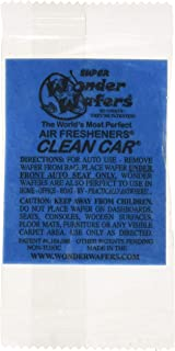 Wonder Wafers 25 CT Individually Wrapped Clean Car Air Fresheners