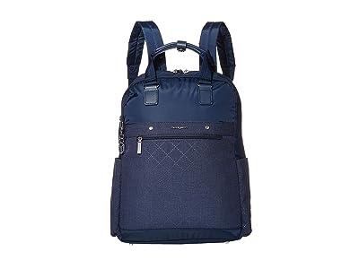 Hedgren Ruby RFID Backpack 15 (Dress Blue) Backpack Bags