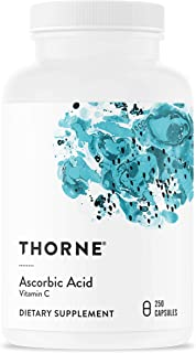 Thorne Research - Ascorbic Acid (1 Gram) - Vitamin C Supplement for Antioxidant Support and Healthy Immune Function - 250 ...