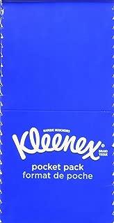 Kleenex 3-Ply Pocket Packs Facial Tissues, 48 Packs of 10 Tissues