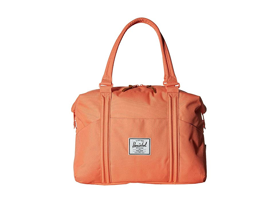Herschel Supply Co. Strand (Fresh Salmon) Duffel Bags, Orange
