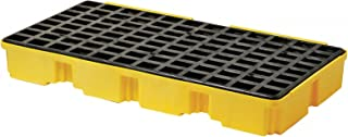 Two-Drum Platform - Modular Spill Containment Platforms with Grating, Eagle Manufacturing