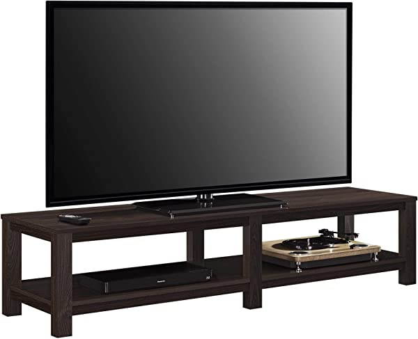 Ameriwood Basics Evelyn TV Stand For TVs Up To 65 Espresso