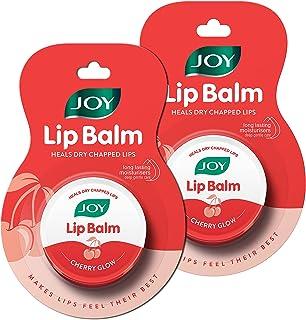 Joy Cherry Glow Lip Balm | Natural | Handy | Cherry Glow | Deep Nourishing And Advanced Moisturization | All Purpose Lip B...