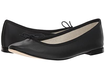 Repetto Cendrillon Nappa Leather (Noir) Women