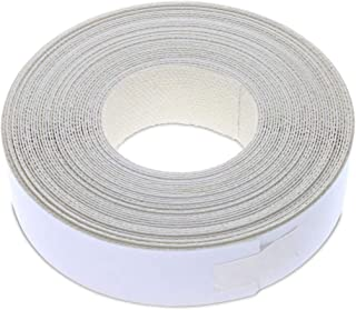 7/8 Inches (22mm) Mat White Melamine Edge Banding, Pre-Glued Veneer Tape – 25 Foot (7.5 Meter) Roll - Iron-On for Easy DIY Application – Will Cover The Edge of a Standard MDF Panel