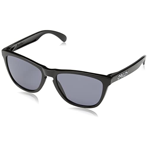 Oakley Frogskins OO9013 24-306 - Lunettes de Soleil Noir Gris Poli 7e096cad2860