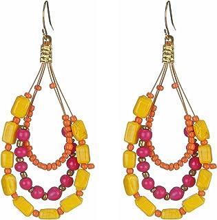 DCA Multicolor Glass Women Earrings (2039)