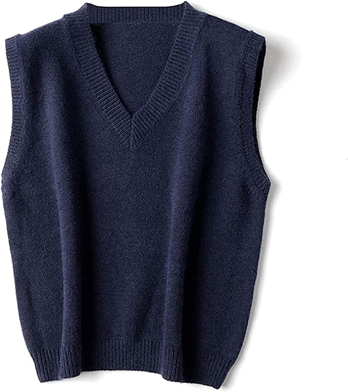 Sweater Vest Women Genuine Free Shipping V-Neck Daily Wais Stylish cheap Sleeveless Students