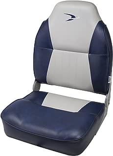 Wise Contoured Folding High Back Boat Seat