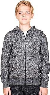 Boys' Big Fleece Hoodie Full Zip Active Hooded Sweatshirt