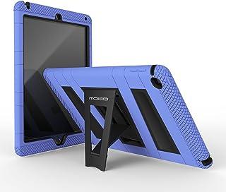 MoKo Funda para iPad Air 2 - Plegable Silicona Durable Protector con Función de Soporte Trasera Dura Cover Case para Apple iPad Air 2 9.7 Pulgadas Tableta, Azul