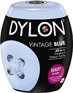 DYLON Textielverf Wasmachine Pods, Vintage Blue