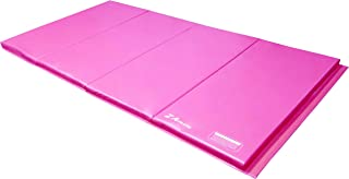 Z Athletic 4ft x 8ft x 2in Gymnastics Tumbling Cheerleading Martial Arts 4 Panel Mat Multiple Colors
