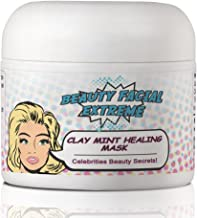 Acne Treatment Clay Mask- Clears Away Clogged Pores, Blackhead & Whitehead Pimples, Blemishes, Scars & Oily Skin for Face & Body. Ingredients Including Sulfur, Bentonite, Kaolin & Jojoba Oil.