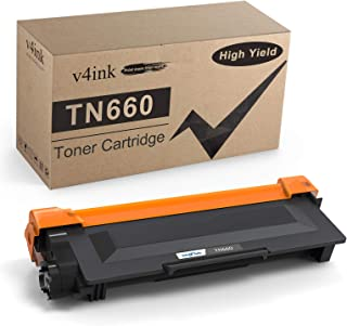 V4INK Compatible TN-660 Toner Cartridge Replacement for Brother TN660 TN630 Toner (Design V3) for MFC-L2700DW HL-L2300D HL...