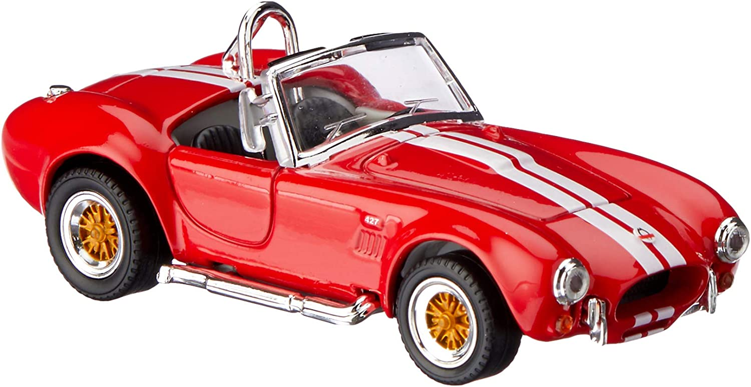Road Signature 94227R 1964 Shelby Cobra 427 Diecast Model Car for 143 Scale& 44; Red