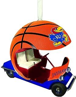 Team Sports America University of Kansas Vintage Field Cart Team Ornament