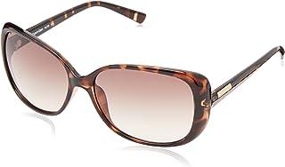 Calvin Klein Women's CWR670S Rectangular Sunglasses