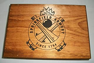 SPRINGFIELD ARMORY 1911 Single Handgun Wooden Box