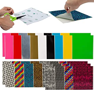 Duck (30 Count) Assorted Duct Tape Sheets Variety Multi Pack Colored Designs & Solids Bulk Colors
